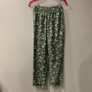 J. Crew Collection Silk Easy Pull On Trousers